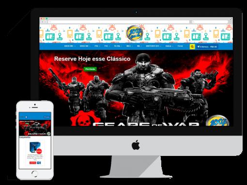 E-Commerce da 100% Games & informática