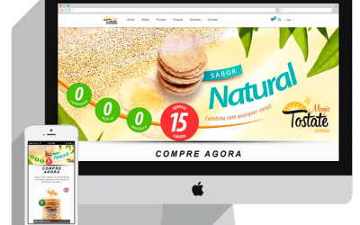 Site do Magic Tostate Cereais