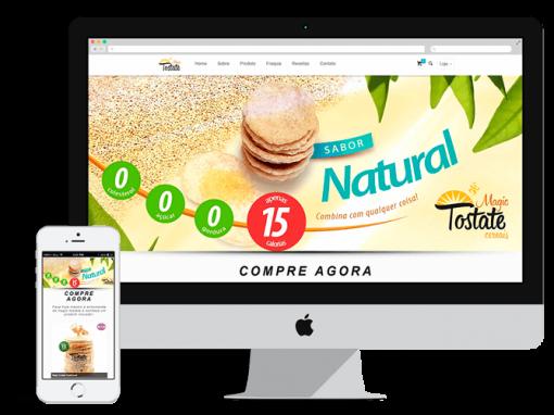 Site do Magic Tostate Cereais