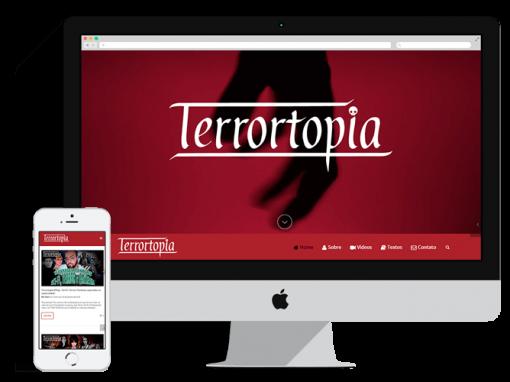 Re-design Blog Terrortopia