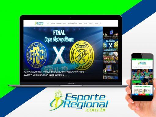 Portal de Notícias para o EsporteRegional.com.br