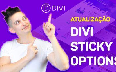Divi Sticky Options: Fixe qualquer elemento na tela – Atualização Divi 4.6
