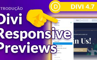 Divi Responsive Preview: veja seu site em vários dispositivos móveis